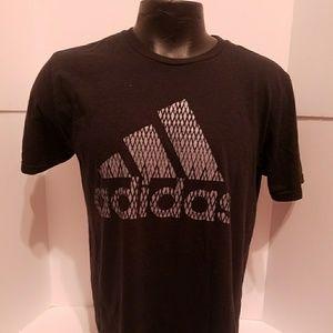 Adidas Men's Size Large T-shirt Black Gray Casual